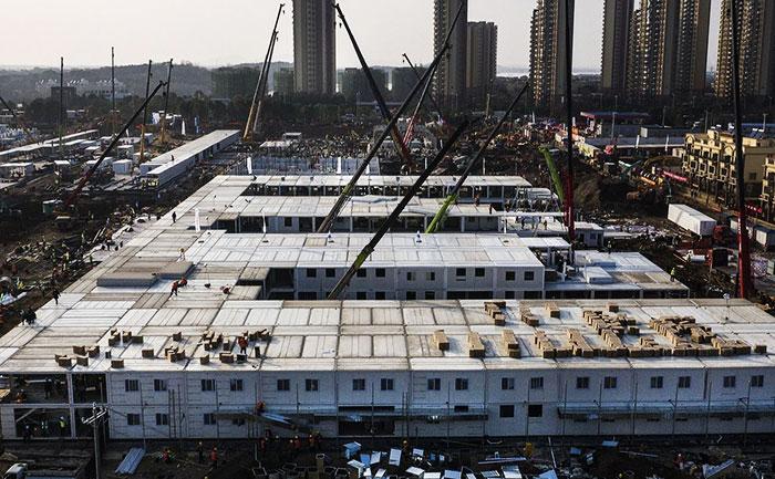 Chinese Speed: China Completes New Wuhan Coronavirus Hospital in 10 Days